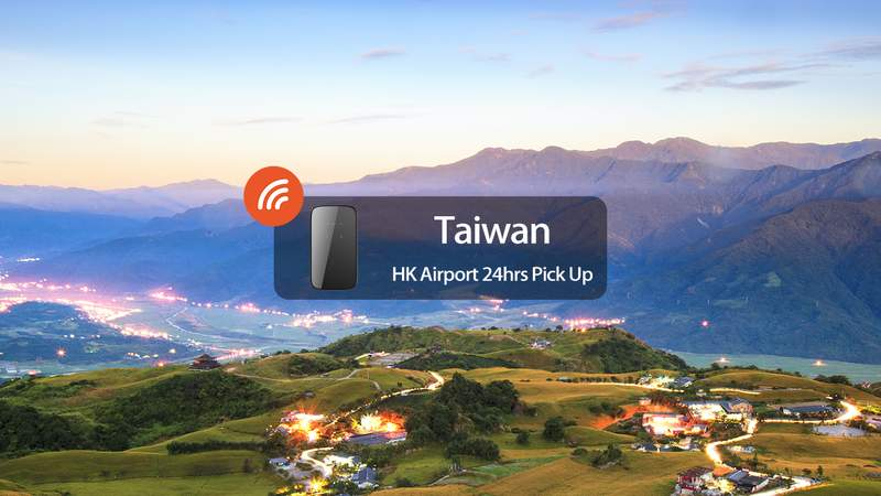 """4G Portable Wifi (Hk Airport Pick Up) For Taiwan - Wifibb 24 Hrs Service"""""""