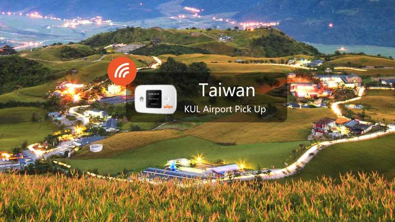 """4G Wifi (My Airport Pick Up) For Taiwan"""""""