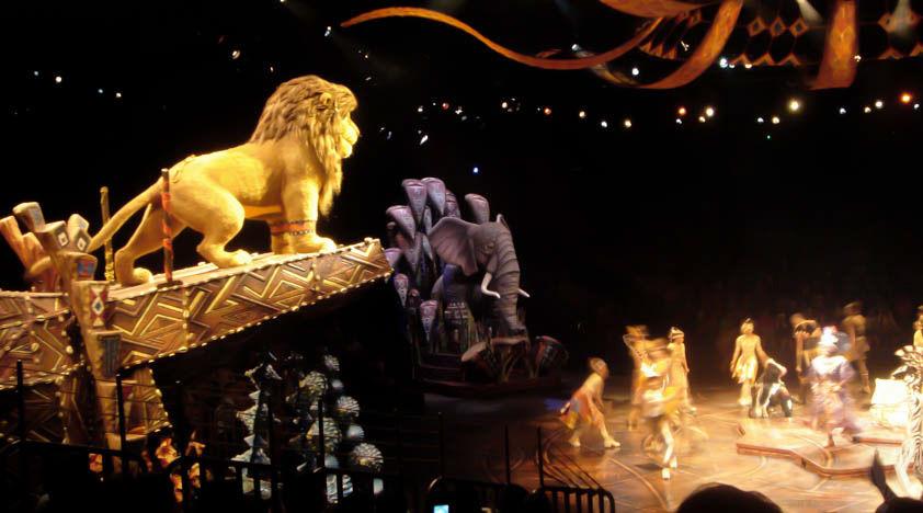 Lion King Show at Hong Kong Disneyland