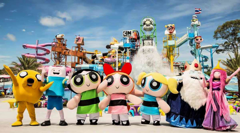 Cartoon Network Amazone Thailand
