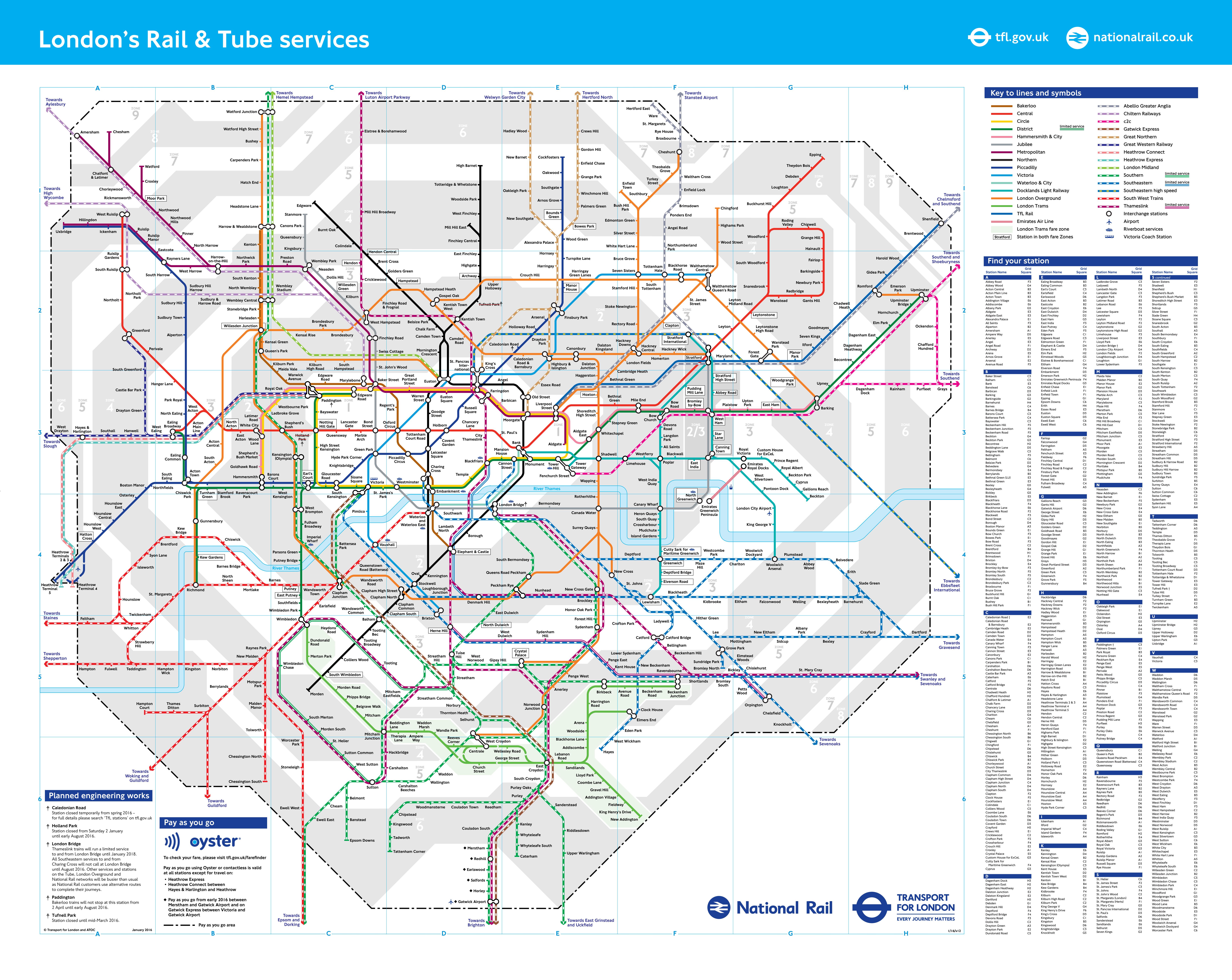 London Travelcard in London, United Kingdom - Klook on