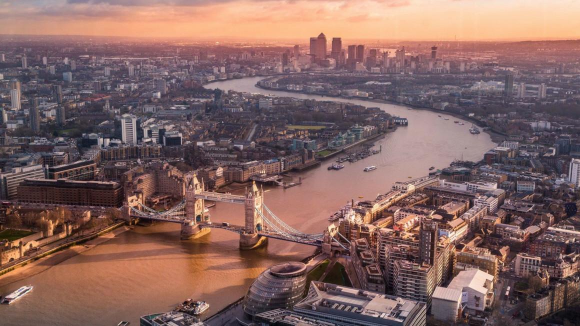 London City - Ariel View