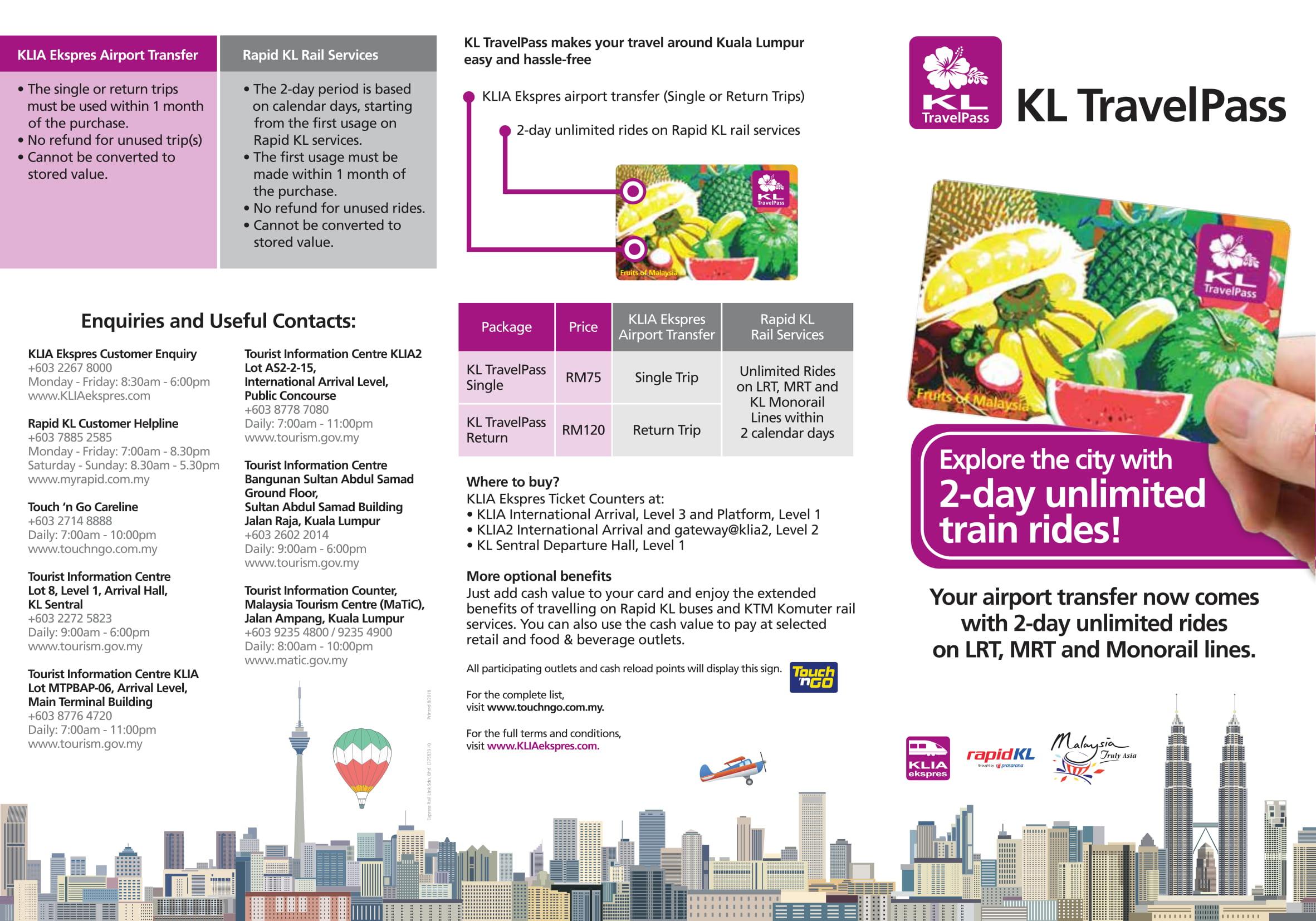 KL TravelPass in Kuala Lumpur, Malaysia - Klook